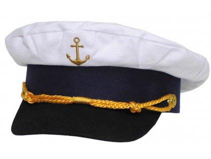 Čepice MARINE námořnická se ZLATOU kotvou