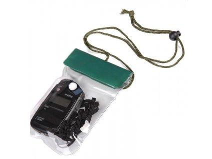 Pouzdro vodotěsné pro mobil na krk 16,5 x 12,5 cm ZELENÉ