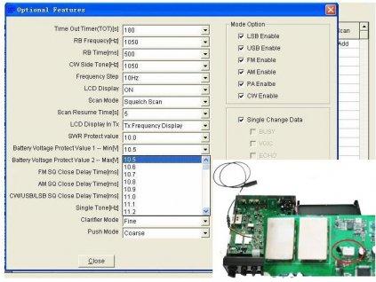 DX-5000 programovací kabel