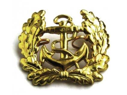 Odznak BW zlatý s kotvou Marine