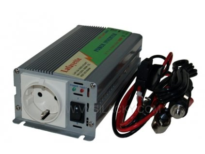 Měnič 12V/230V 600W (1500W)