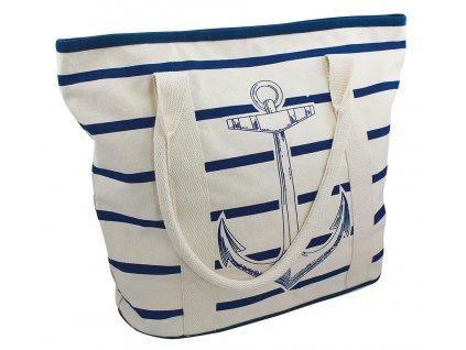 Taška nákupní námořnická s kotvou 9835
