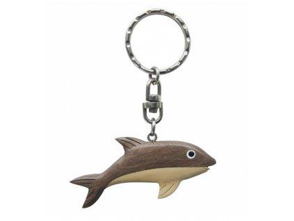 Přívěsek na klíče - delfín