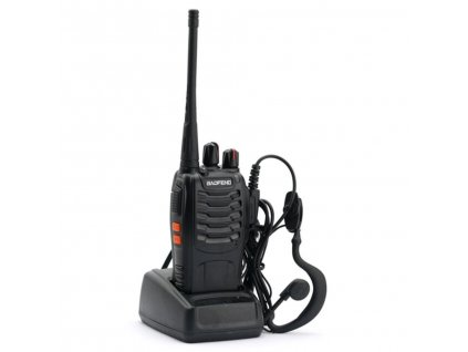 BAOFENG BF-888S UHF  + HF sada + Naprogramováno + Doprava zdarma