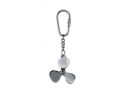 Přívěsek na klíče lodní šroub stříbrný