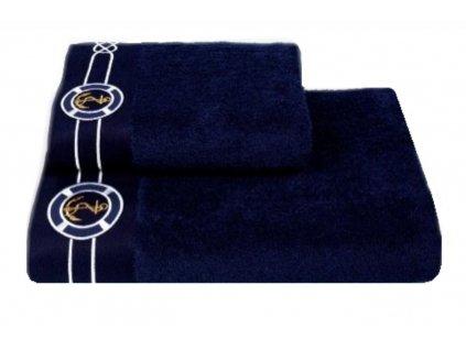 Ručníky MARINE 50 x 100 cm Tmavě modrá