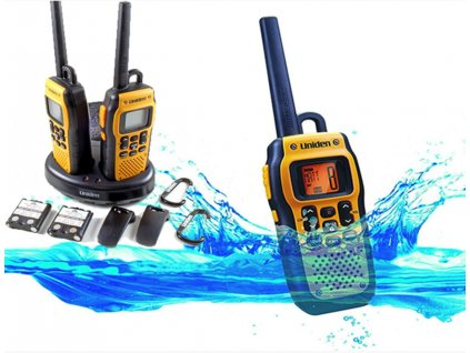 UNIDEN PMR446SWPF2CK PMR plovoucí vodotěsné vysílačky 2 ks