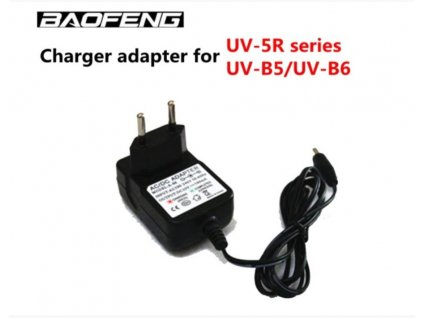 Baofeng UV-5R napájecí adaptér z 220V