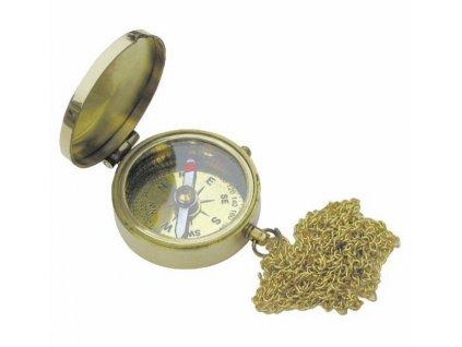 Kompas do kapsy s řetízkem 5 cm 8228