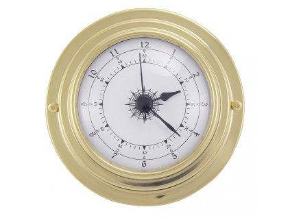 Mosazné hodiny 9,8 cm