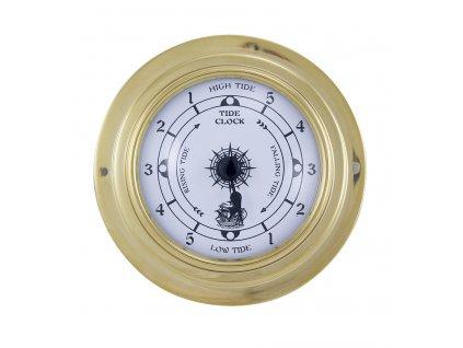 Mosazné přílivové hodiny 9,8 cm