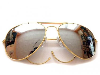 Brýle AIR FORCE zrcadlové s pouzdrem