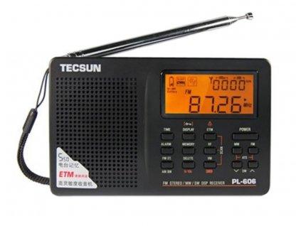 Tecsun PL-606 přijímač