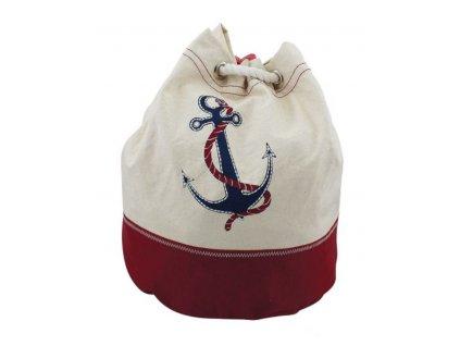 Batoh námořnický s kotvou 30 cm