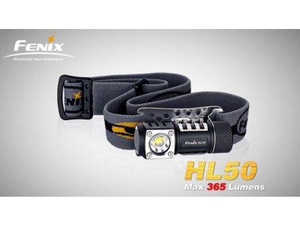 Čelovka Fenix HL50  + bílý plecháček + doprava zdarma