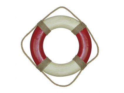 Záchranný kruh dekorační vintage 36 cm