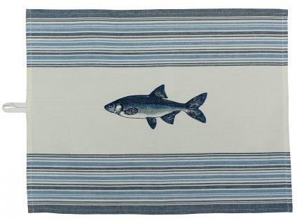 Utěrka na nádobí - ryby
