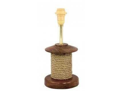 Lampa stolní námořnická s lanem