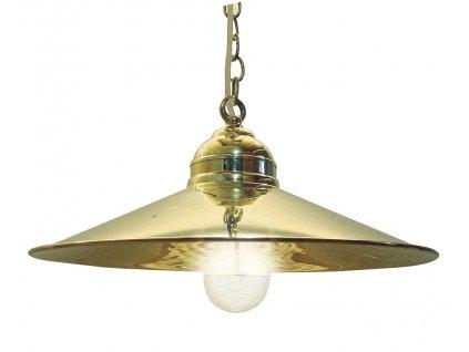 Lampa námořnická závěsná mosazná 35,5 cm 1282