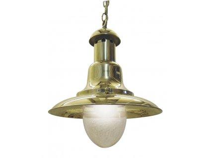 """Lampa námořnická """"Fishermen's"""" závěsná mosazná 27 cm 1283"""