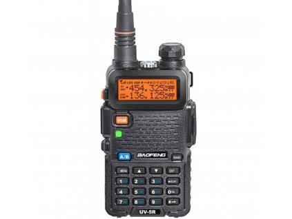 BAOFENG UV-5R 8W  + HF sada + Naprogramováno + 8W!