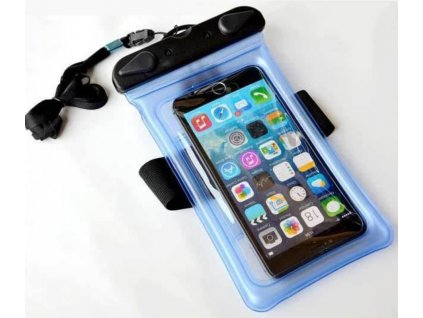 Pouzdro vodotěsné pro mobil na krk i ruku 17,5 cm x 10,5 cm