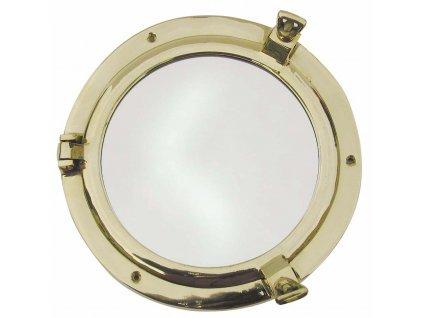 Lodní okénko otvíravé zrcadlové Ø 20 cm