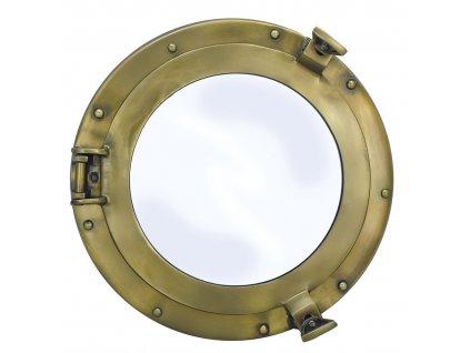 Lodní okénko otvíravé zrcadlové Ø 28/17,5 cm