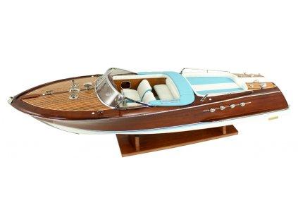 Model lodě - sportovní člun 89 cm
