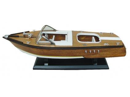 Model lodě - italský sportovní člun 50 cm 5167