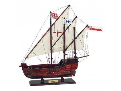 Model lodě - karavela Niňa 40 cm