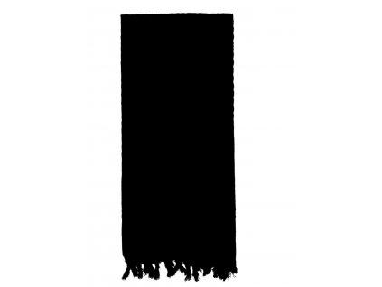 Šátek SHEMAGH odlehčený ČERNÝ 105 x 105 cm