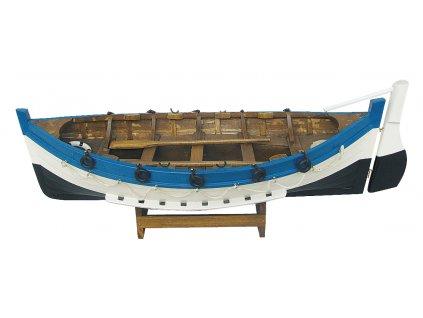 Model rybářského člunu 43 cm