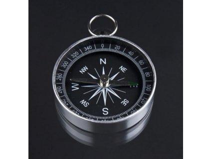 Kompas v kovovém pouzdru Ø 4,4 cm