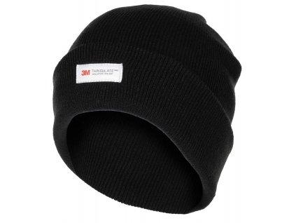 Čepice pletená Acryl Thinsulate™ ČERNÁ