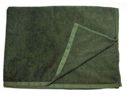 Ručník rychleschnoucí BRITSKÝ original ZELENÝ 100 x 50 cm