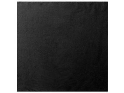 Šátek jumbo velký 68 x 68 cm ČERNÝ