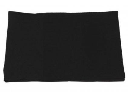 Šátek multifunkční rukáv Acryl-Spandex/Fleece ČERNÝ