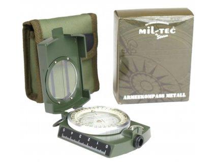 Kompas a buzola ARMY kovový ZELENÝ