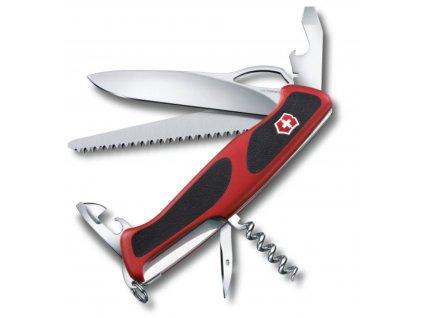 Nůž kapesní RangerGrip 79 130mm ČERVENÝ