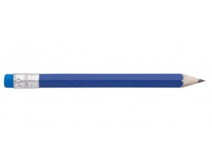 Tužka s gumou malá modrá