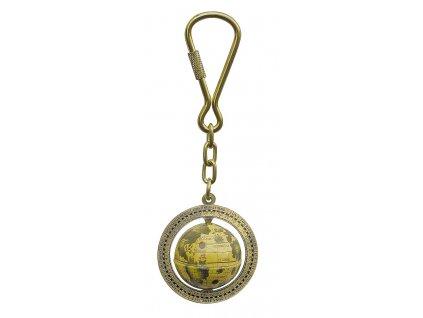 Přívěsek na klíče - glóbus 1039