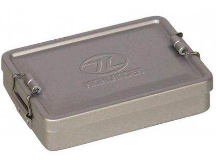 Box vodotěsný hliníkový STŘÍBRNÝ 140x95x35 mm