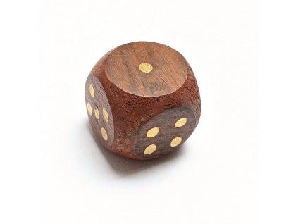 Hrací kostka dřevěná 9140