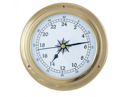 Mosazné lodní 24H hodiny 14,5 cm