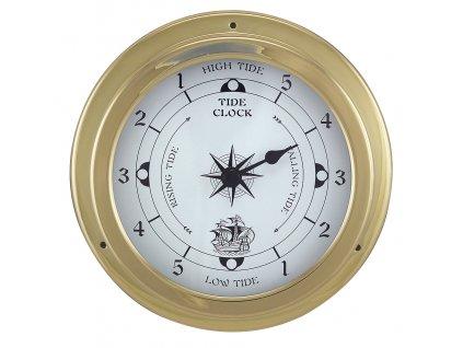 Mosazné lodní přílivové hodiny 14,5 cm