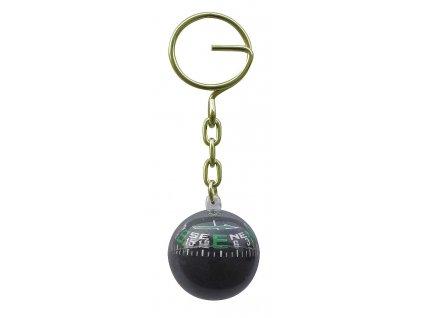 Přívěsek na klíče kompas koule