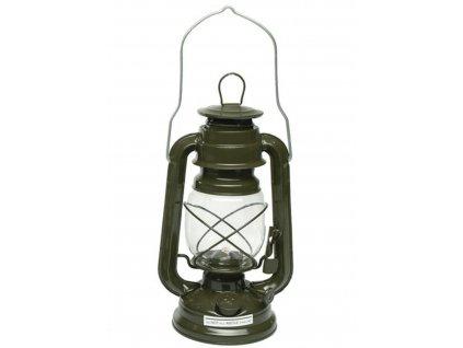 Lampa petrolejová ZELENÁ US Army 23 cm
