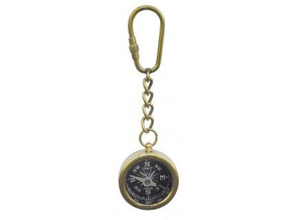 Přívěsek na klíče lodní kompas průměr 3,5 cm 1052