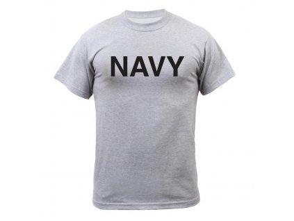 Originální triko US NAVY WWII vintage šedé